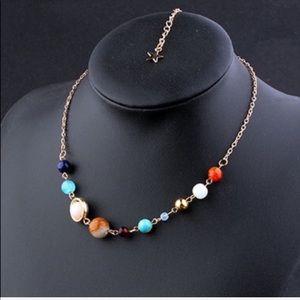 Jewelry - Galaxy Planet Statement Necklace